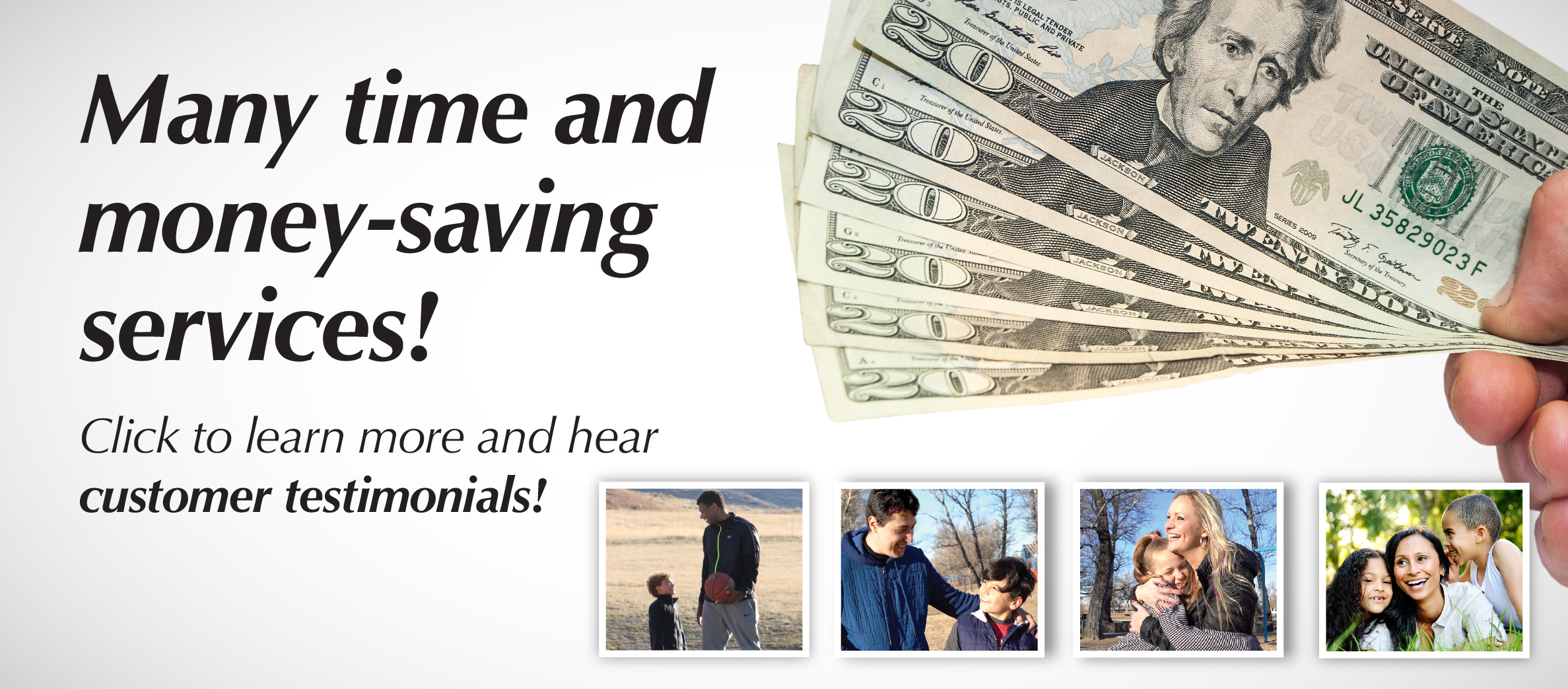 Time and money saving services at the Wyoming Child Support Program.