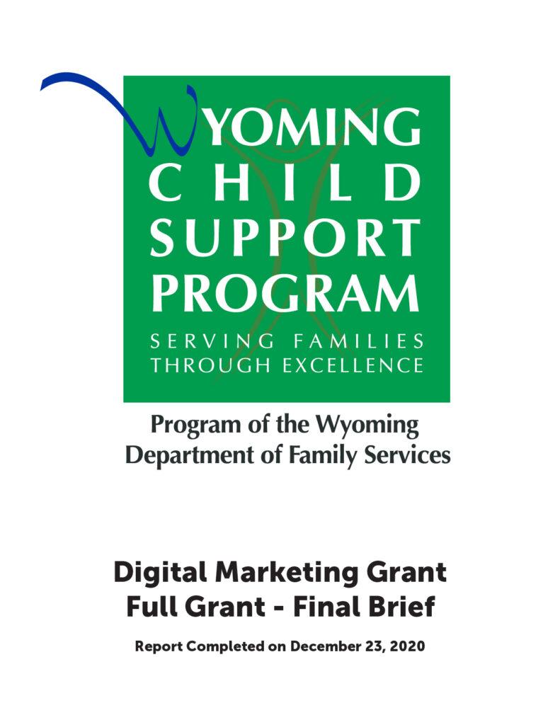 Digital Marketing Grant - Full Grant - Final Brief